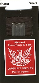 Richard Hemming & Son Needles #3 Milliner